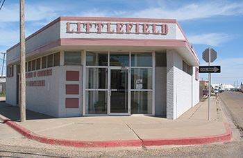 The LittlefieldChamber of Commerce building